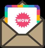 Recevez de nos nouvelles par e-mail